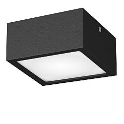 213927 Светильник ZOLLA QUAD LED-SQ 10W 780LM ЧЕРНЫЙ 4000K IP44 (в комплекте)