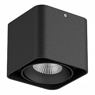052117-IP65 Светильник MONOCCO LED10W 600LM 30G ЧЕРНЫЙ 4000K (в комплекте)
