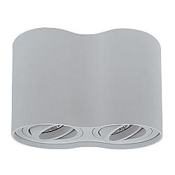 052029 Светильник BINOCO DUO HP16Х2 СЕРЫЙ (в комплекте)