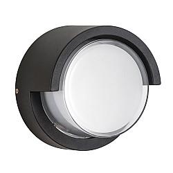 382173 Светильник PALETTO CYL LED 15W 550LM 180G ЧЕРНЫЙ 3000K IP54 (в комплекте)
