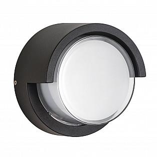 382174 Светильник PALETTO CYL LED 15W 550LM 180G ЧЕРНЫЙ 4000K IP54 (в комплекте)