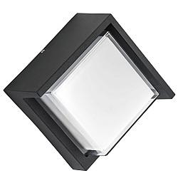 382274 Светильник PALETTO QUAD LED 15W 550LM 180G ЧЕРНЫЙ 4000K IP54 (в комплекте)