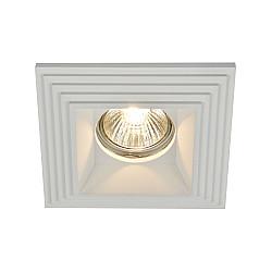 Встраиваемый светильник DL005-1-01-W Gyps Modern Maytoni
