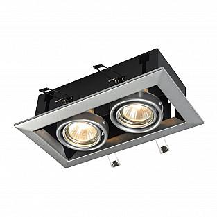 Встраиваемый светильник DL008-2-02-S Metal Modern Maytoni