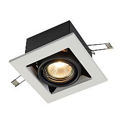 Встраиваемый светильник DL008-2-01-W Metal Modern Maytoni