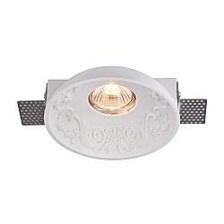 Встраиваемый светильник DL278-1-01-W Gyps Classic Maytoni