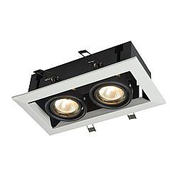 Встраиваемый светильник DL008-2-02-W Metal Modern Maytoni