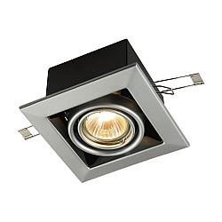 Встраиваемый светильник DL008-2-01-S Metal Modern Maytoni
