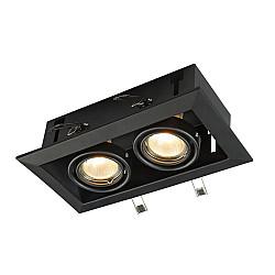 Встраиваемый светильник DL008-2-02-B Metal Modern Maytoni