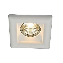 Встраиваемый светильник DL007-1-01-W Gyps Modern Maytoni