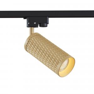 TR011-1-GU10-G Трековый светильник Track lamps Single phase track system Maytoni