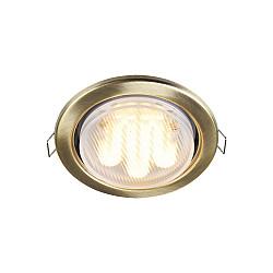 Встраиваемый светильник DL293-01-BZ Metal Modern Maytoni