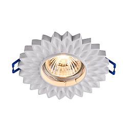 Встраиваемый светильник DL282-1-01-W Gyps Classic Maytoni
