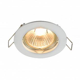Встраиваемый светильник DL009-2-01-W Metal Modern Maytoni