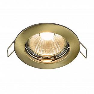 Встраиваемый светильник DL009-2-01-BZ Metal Modern Maytoni