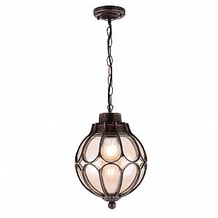 O024PL-01G Подвесной светильник Outdoor Via Золото Антик Maytoni