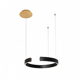 Подвесной светильник Ring 10025/400 Black