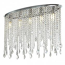 Потолочная люстра 1692-5C Crystal Rain Favourite