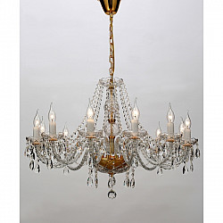 Подвесная люстра 1735-12P Crystal Monreal Favourite