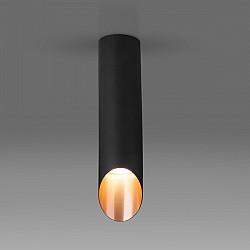 Точечный светильник 7011, 7005 DLN115 GU10 черный/золото