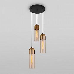 Подвесной светильник Airon 50180/3 янтарный