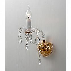 Настенный светильник 1735-1W Crystal Monreal Favourite