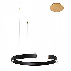 Подвесной светильник Ring 10025/600 Black
