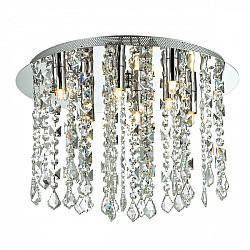 Потолочная люстра 1684-8C Crystal Rain Favourite