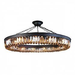 Подвесная люстра 1657-15P Loft Amber Favourite
