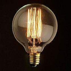 Ретро лампочка накаливания Эдисона G80 G8060