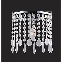 Настенный светильник 1692-1W Crystal Rain Favourite