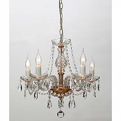 Подвесная люстра 1735-5P Crystal Monreal Favourite
