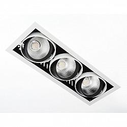 Точечный светильник Cardano Led T813 BK/CH 3*12W 4200K