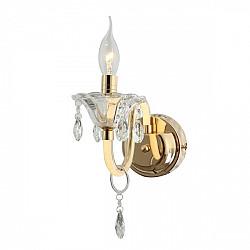 Настенный светильник 2425-1W Crystal Mieder Favourite