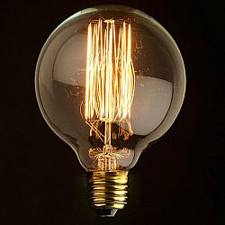 Ретро лампочка накаливания Эдисона G95 G9560