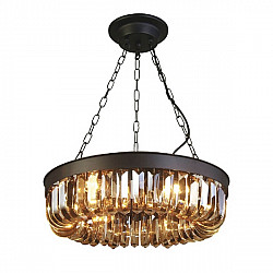 Подвесная люстра 1657-6P Loft Amber Favourite