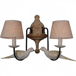 Настенный светильник 1594-2W Country Birds Favourite