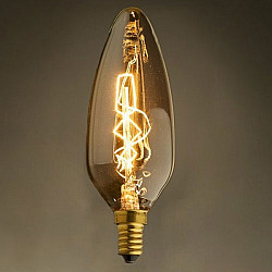 Ретро лампочка накаливания Эдисона 3540 3540-G