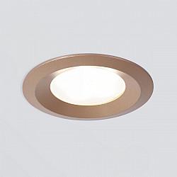 Точечный светильник 110 MR16 золотой