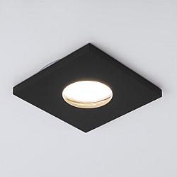 Точечный светильник 126 MR16 черный матовый