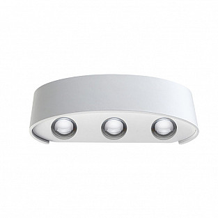 357680 NT18 096 белый Ландшафтный светильник IP54 LED 3000K 6W 220-240V CALLE