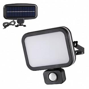 358020 NT19 246 черный Ландшафтный светильник на солнечной батарее IP54 LED 6000К 12.4W 3.7V SOLAR