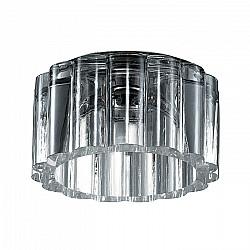 369603 NT12 302 хром Встраиваемый светильник IP20 G9 40W 220V VETRO