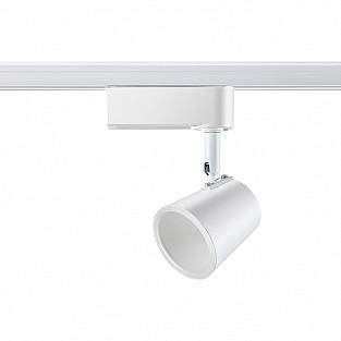 357859 NT18 086 белый Трековый светильник IP20 LED 3000К 5W 110-240V CAMPANA