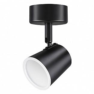 357853 NT18 085 чёрный Накладной светильник IP20 LED 3000К 6W 110-240V CAMPANA