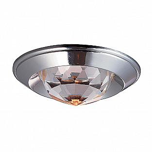 369427 NT10 327 хром Встраиваемый НП светильник IP20 GX5.3 50W 12V GLAM