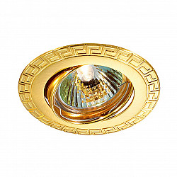369619 NT12 372 золото Встраиваемый ПВ светильник IP20 GX5.3 50W 12V COIL