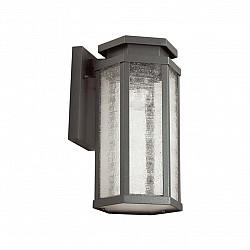 4048/1W ODL18 711 темно-серый/белый Уличный настенный светильник IP44 E27 100W 220V GINO