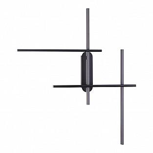 3890/36WL ODL20 35 черный/металл Настенный светильник LED 3000K 36W 220V RUDY