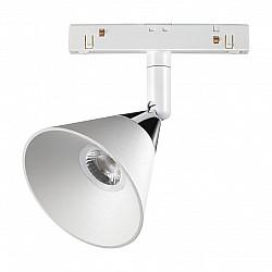 358398 SHINO NT20 000 белый/хром Трековый св-ник для низков.шинопровода IP20 LED 4000K 10W 48V FLUM